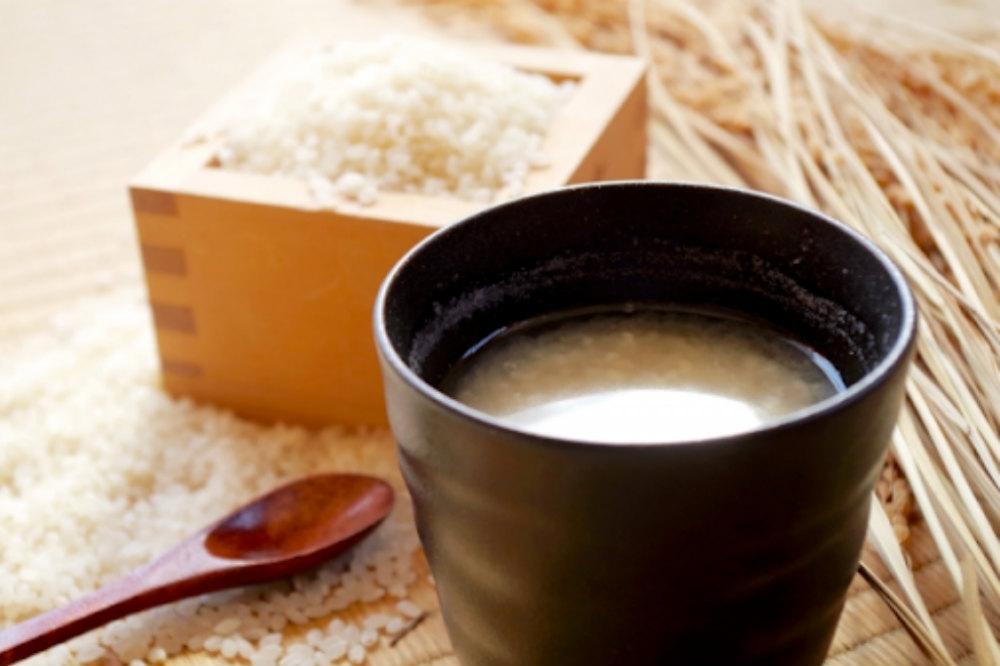 白米と甘酒