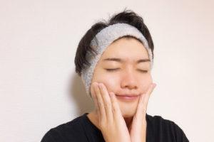 米ぬか洗顔後のお肌