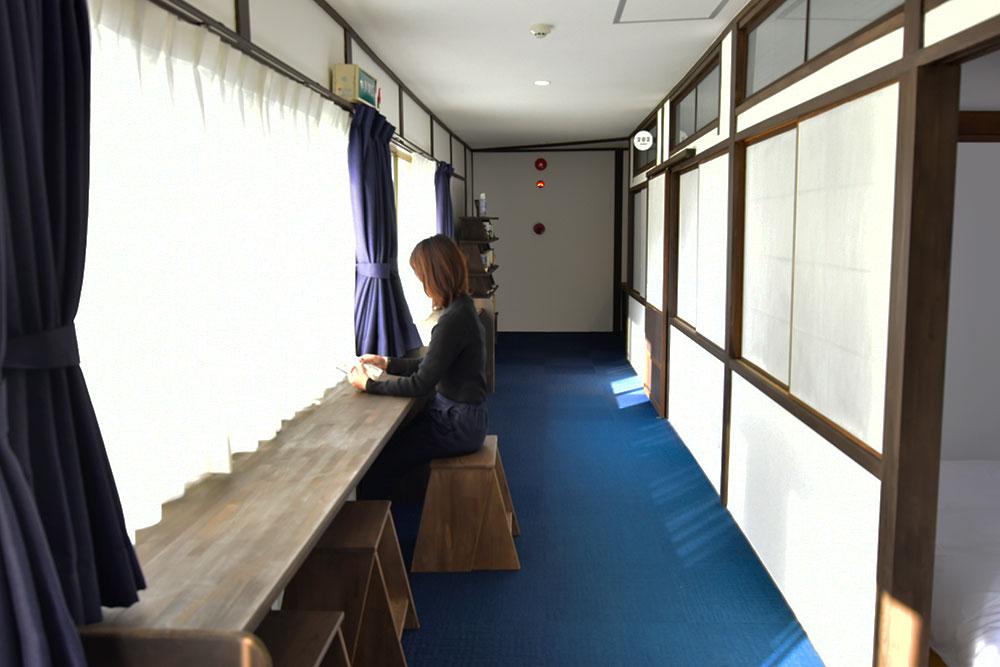 ファスティング旅館 若杉屋 書斎スペース