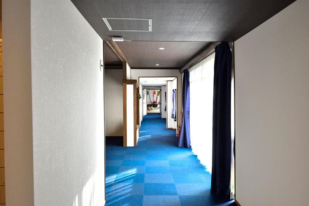 ファスティング旅館 若杉屋 廊下