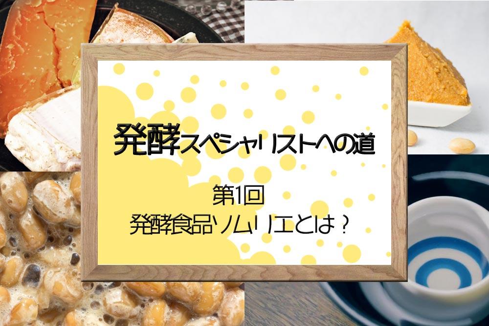 発酵 食品 ソムリエ